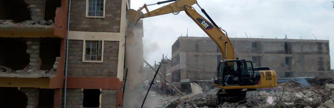 Relief for 'bulldozer threatened' landlords