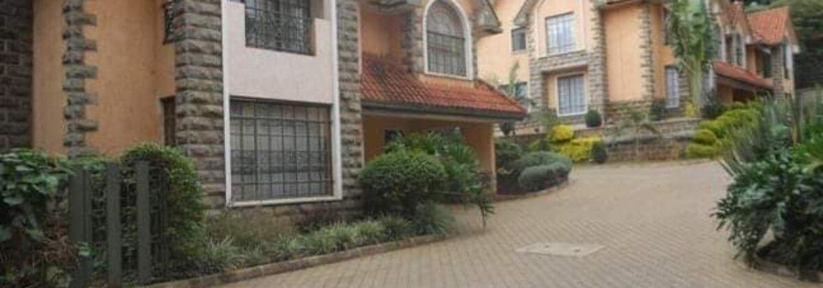5 Bedroom, All-Ensuite Maisonette TO LET – Riara Road, Nairobi
