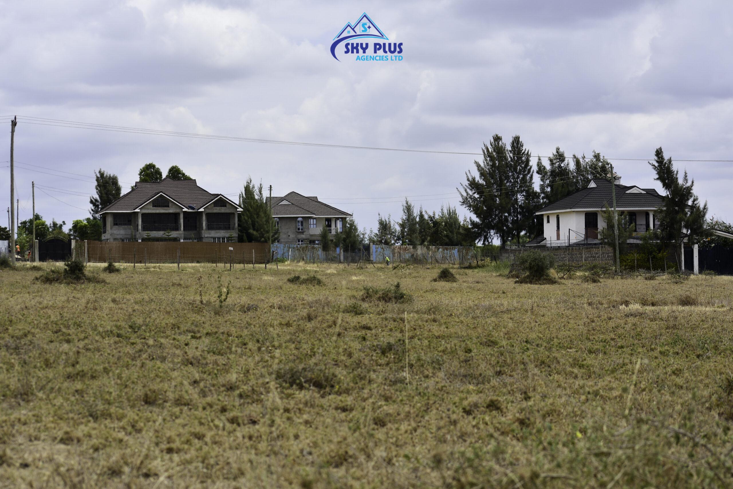 1/8 Acre Plots FOR SALE in Kitengela, behind KAG University